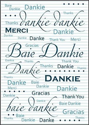Dankie en Veels Geluk