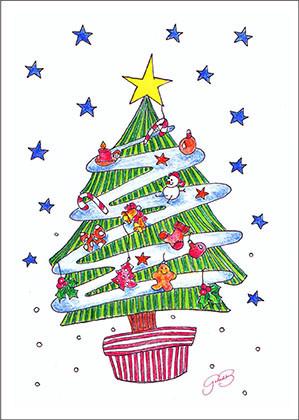 English Christmas Greeting Cards