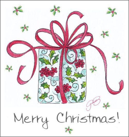 English Christmas Gift Tags