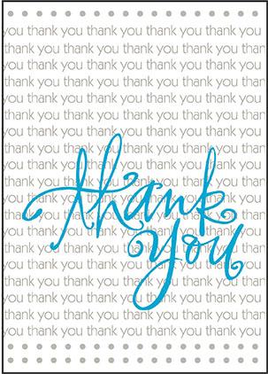 Thank You | Congratulations | Good Luck